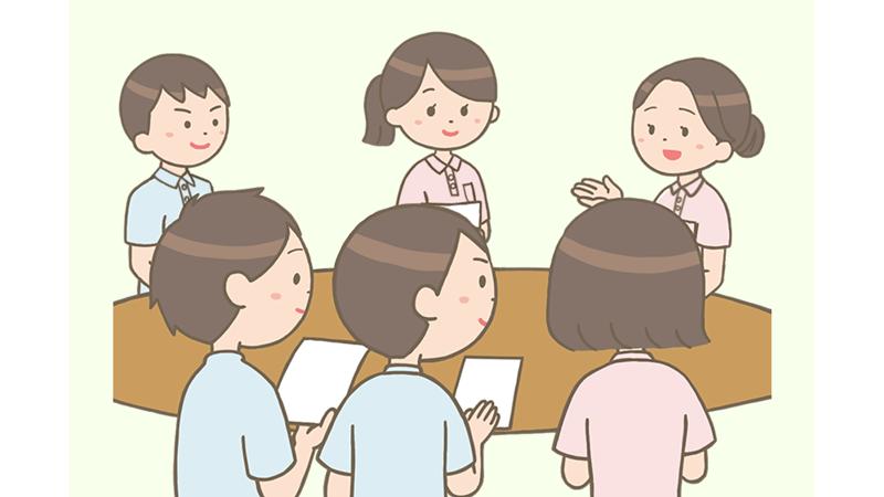 【訪問看護師の1日】9:00 出勤・朝のミーティング