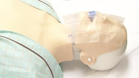 人工呼吸(フェイスシールド)の実施 | 一次救命処置(BLS)【4】