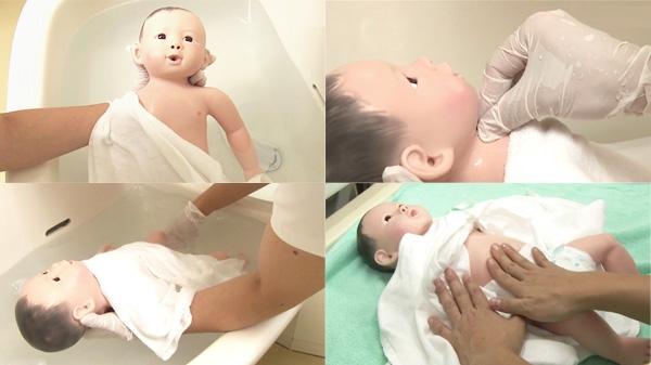 沐浴の準備 | 新生児の沐浴【1】