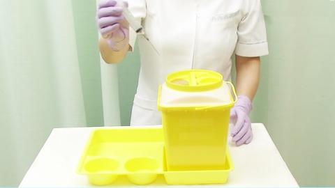 針の廃棄方法 | 針刺し事故の防止【4】