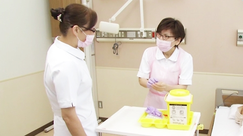 血液・体液曝露時の対応 | 針刺し事故の防止【5】