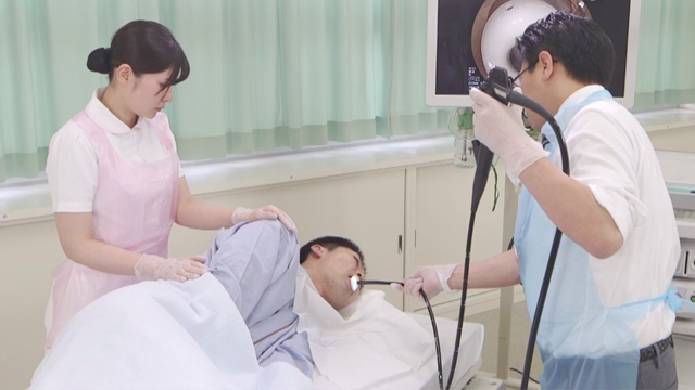 上部消化管内視鏡検査の介助 | 消化管内視鏡検査【1】