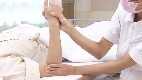 前腕の回外と回内(他動) | 関節可動域訓練【8】