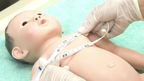 胸囲測定 | 新生児の身体測定【4】