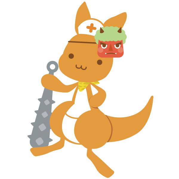 看護roo!_かんごるー_鬼_カレンダー