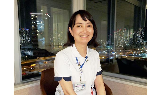 羽田さんの写真