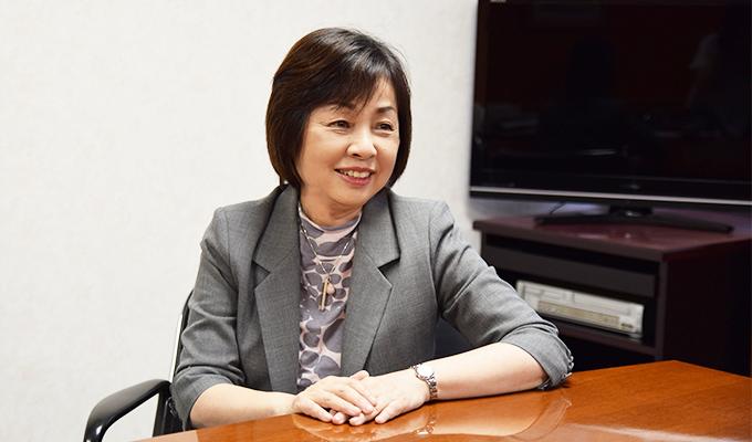 これからの専門看護師について見通しを語る井上氏の写真