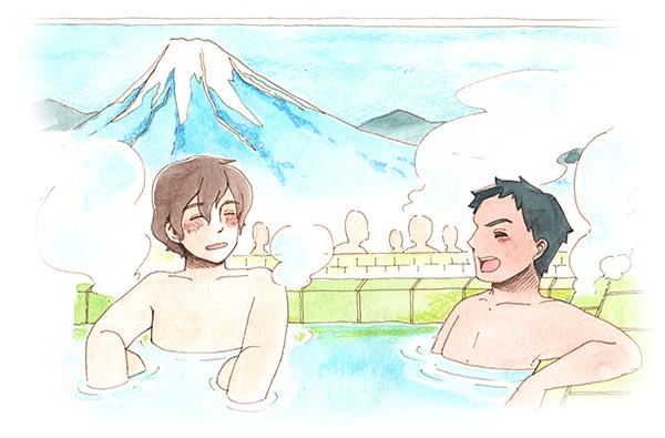 EPA看護師が日本の銭湯で入浴の大切さを知る