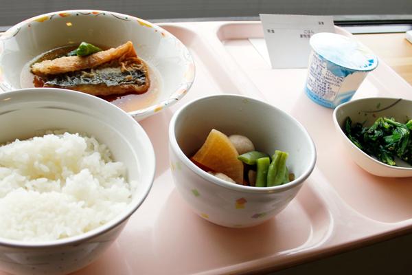 病院食の写真