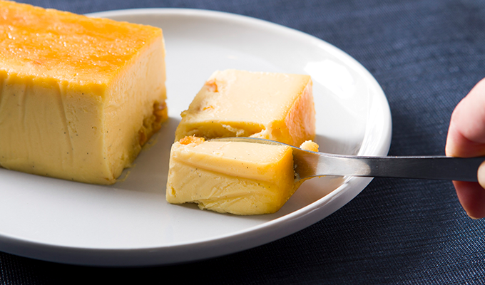 AND CAKE(アンド ケーキ)「チーズケーキ三ヶ日みかん」の画像