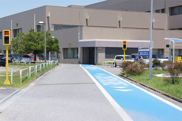 日本医科大学千葉北総病院_ヘリポート_コード・ブルー