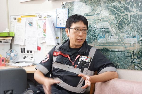 フライトドクター_益子一樹_日本医科大学千葉北総病院_ドクターヘリ