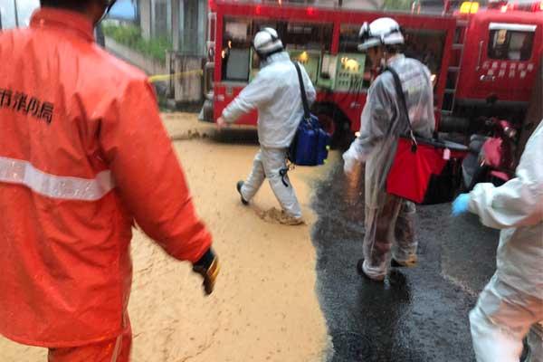 広島県DMAT_平成30年7月豪雨_西日本豪雨災害_救護活動