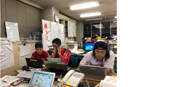 広島県DMAT_平成30年7月豪雨_西日本豪雨災害_救護活動_災害対策本部