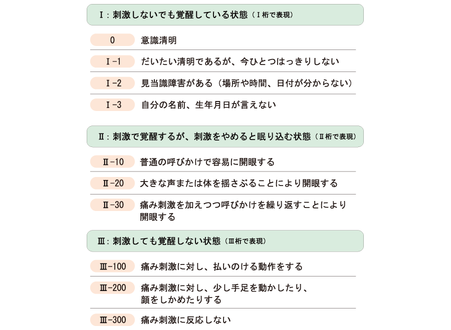 JCS Japan Coma Scale