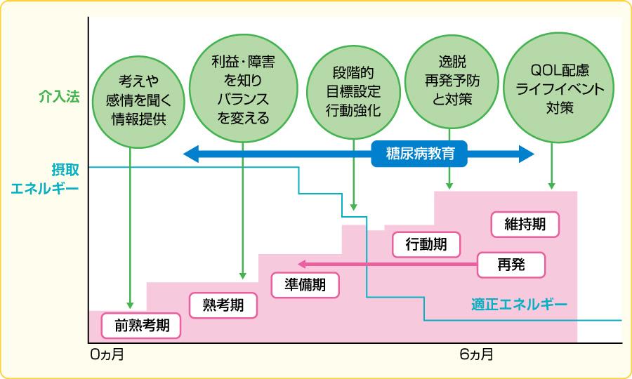 多理論統合モデル(変化ステージモデル)(文献5より改変)