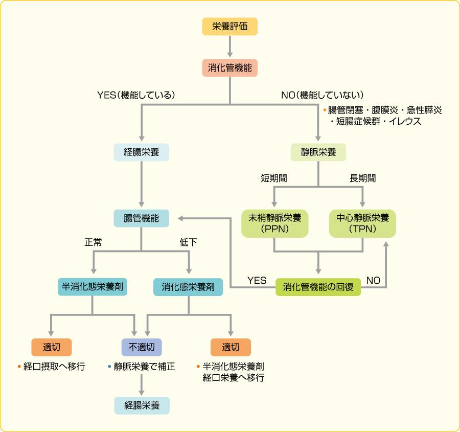 図8栄養療法のdecision tree(文献1より引用)