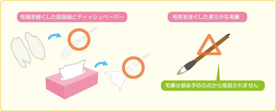 触覚検査の道具