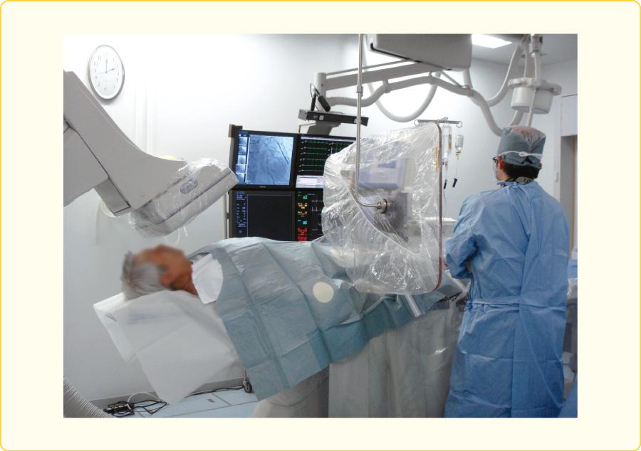PCI中に看護師が見ている風景(1)