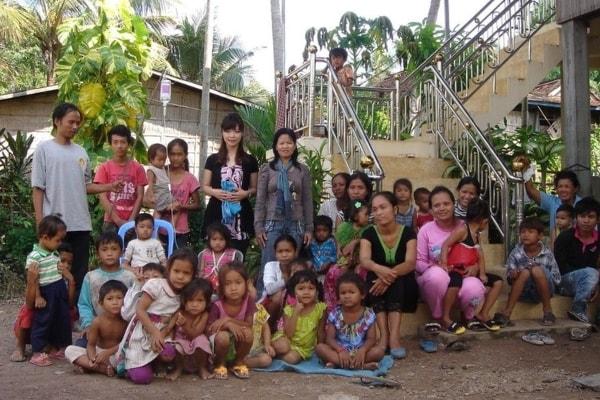 ボランティア活動の写真