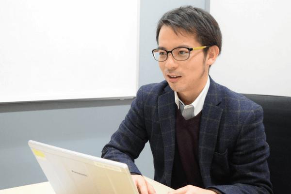 船井総合研究所・内田亮太さんの写真