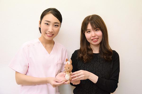 高橋怜奈先生と高柳さんの画像