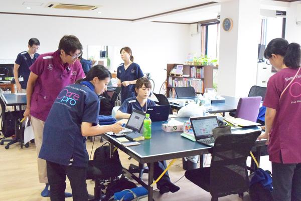 訪問看護ステーションの事務所の写真
