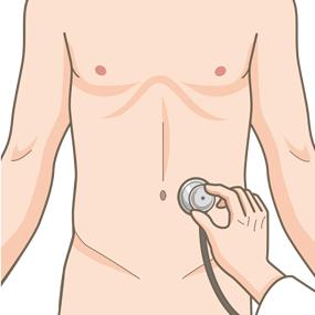 患者さんの腹部を聴診しているイラスト🎨【フリー素材】|看護roo ...