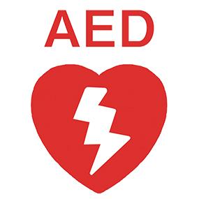 AEDのマークのイラスト