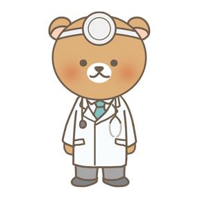 くまのお医者さんのイラスト フリー素材 看護roo カンゴルー