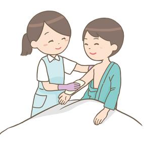 Bed Bath For Patient