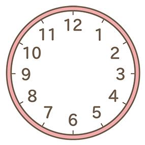 時計(針なし)のイラスト素材 [ ] - PIXTA