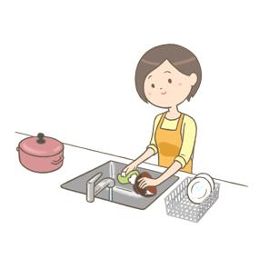 炊事のイラスト
