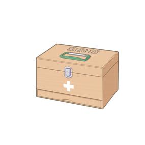 救急箱のイラスト