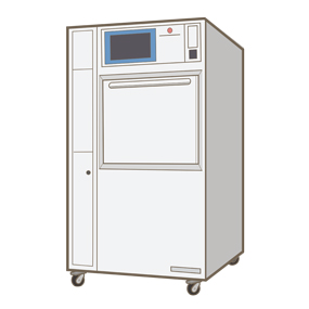 低温滅菌器のイラスト