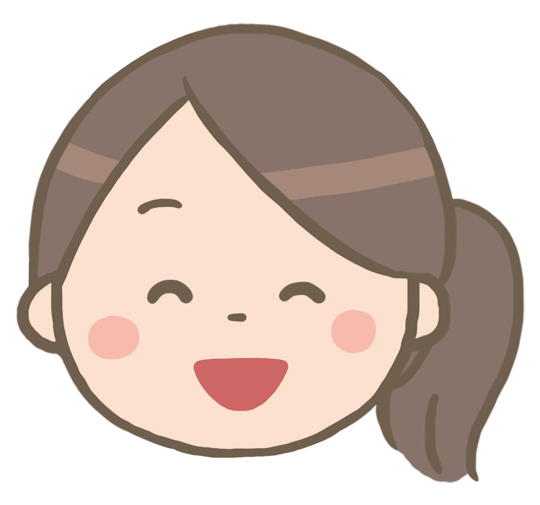笑顔の看護師のイラスト※顔のみ🎨【フリー素材】|看護roo![カンゴルー]