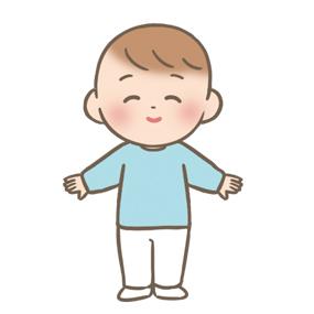 1人で立つことができる赤ちゃん