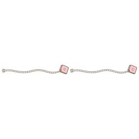 メジャー(ピンク×ピンク)のライン