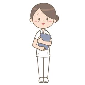 看護教員の立ち絵のイラスト