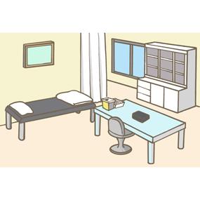 処置室のイラスト