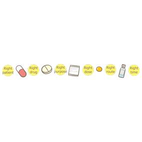様々な薬のライン
