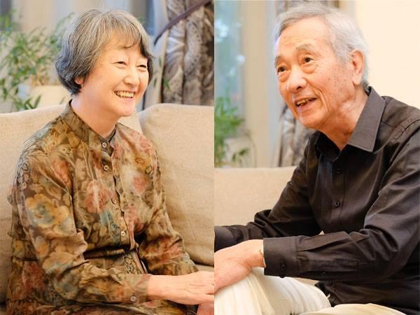 ナイチンゲールについて50年研究を行っている小南吉彦さんと金井一薫さんの写真