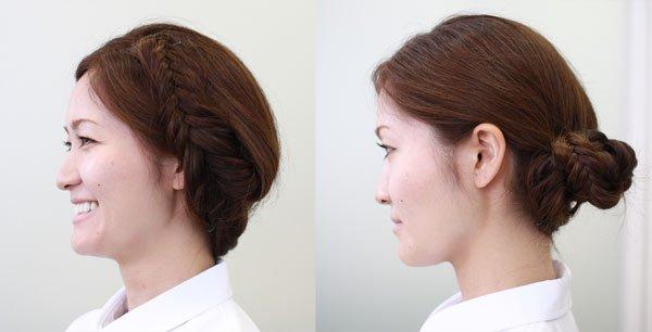 看護師のまとめ髪テク【vol.5】   これ1つで髪型の幅が広がる!フィッシュボーンに挑戦