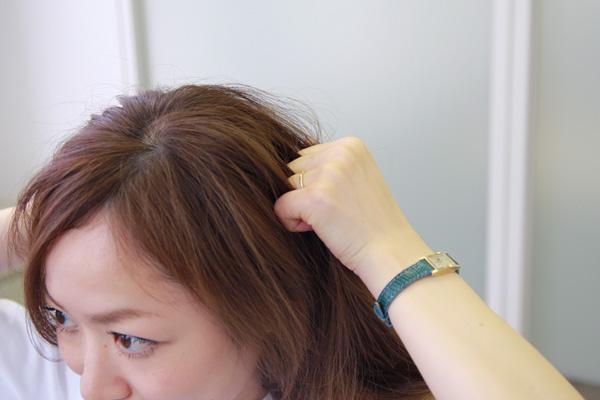 梅雨時のまとまらない髪に。ベタつかないヘアワックスの使い方★美容師直伝   看護師のまとめ髪テク【番外編5】014