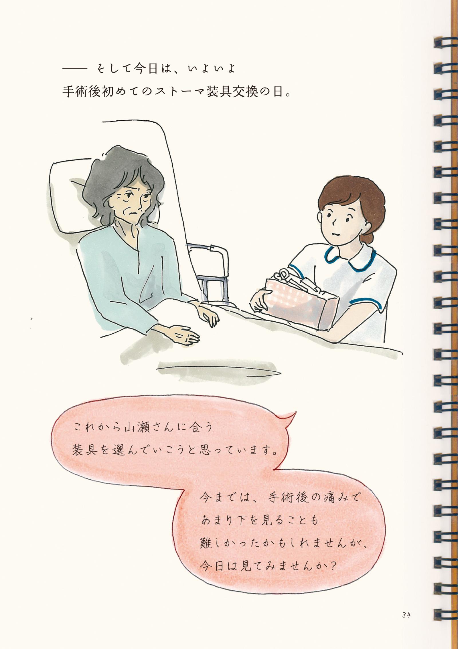 『病院というヘンテコな場所が教えてくれたコト。2』18P