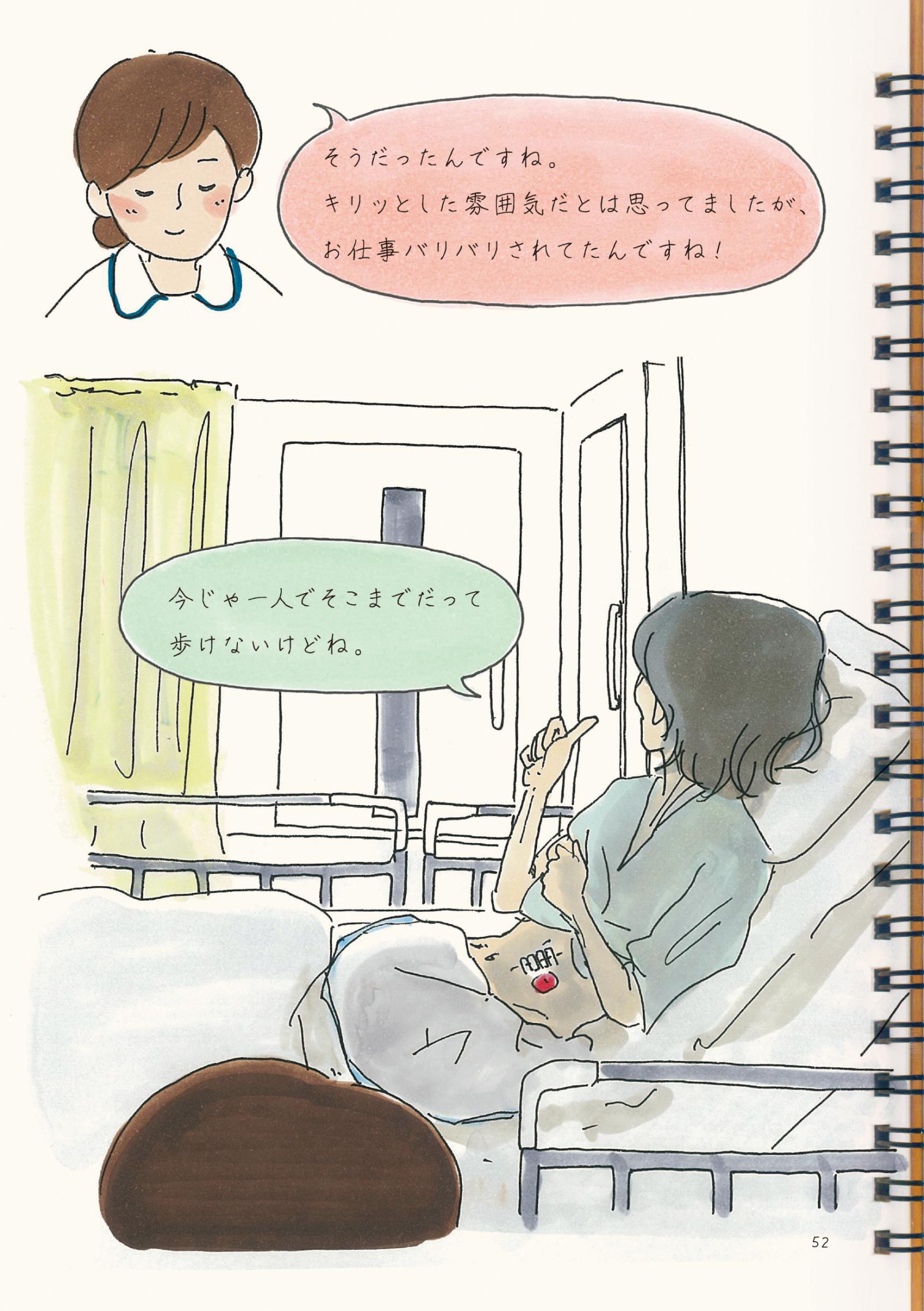 『病院というヘンテコな場所が教えてくれたコト。2』36P