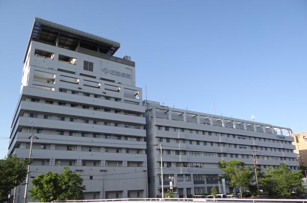 近森病院の建物の写真。
