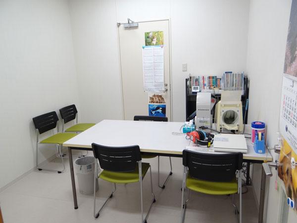 埼玉医科大学総合医療センターでピア・サポートを行う部屋の一例