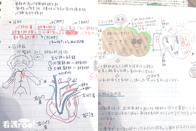 石川亜希さんの勉強ノートの写真