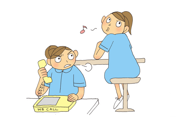 看護師専用Webマガジン ステキナース研究所 | ナースコールに応じない同僚への対処法って?